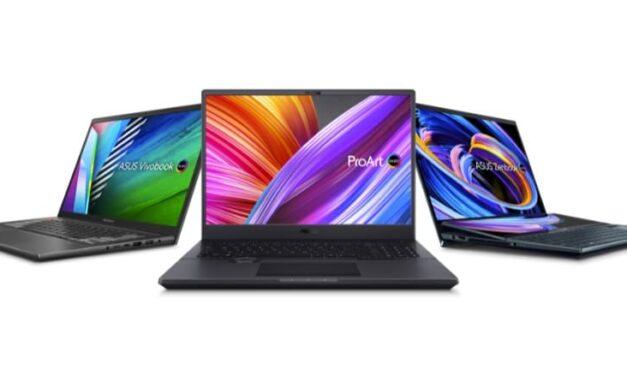 ASUS presenta su gama completa de portátiles para creadores