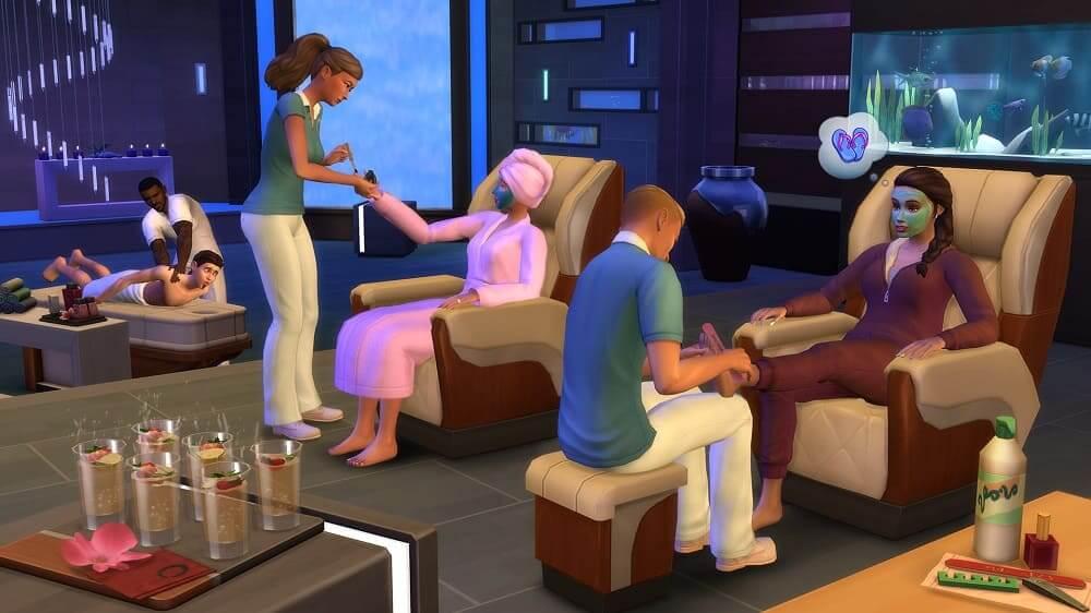 EA y Maxis anuncian una nueva actualización del pack de contenido Los Sims 4 'Día de Spa'