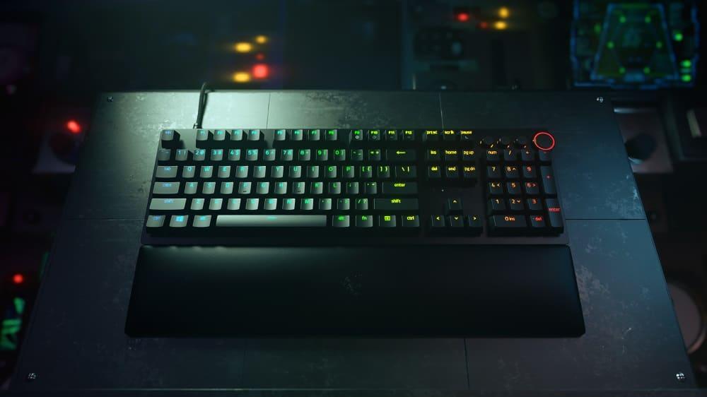 Nuevo Razer Huntsman V2, el teclado más rápido y completo del mundo