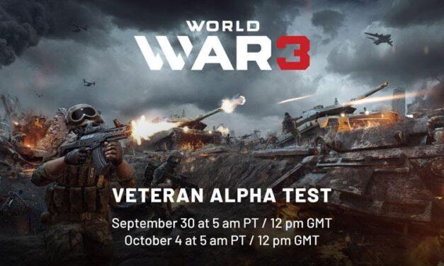 World War 3 permite, desde hoy, ver su nueva versión en una beta cerrada para jugadores y veteranos