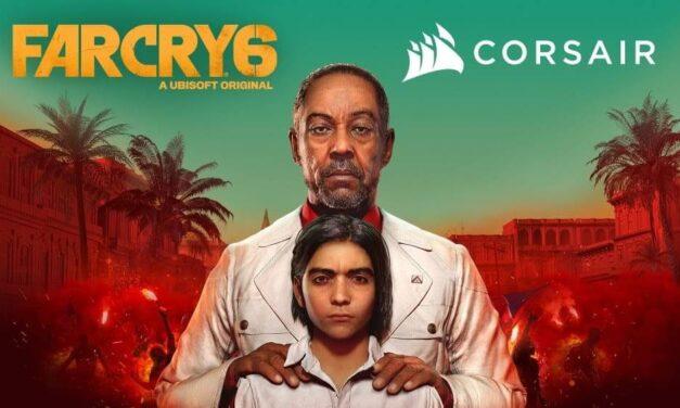 Corsair y Ubisoft colaboran para ofrecer una experiencia inmersiva en el juego de PC Far Cry 6