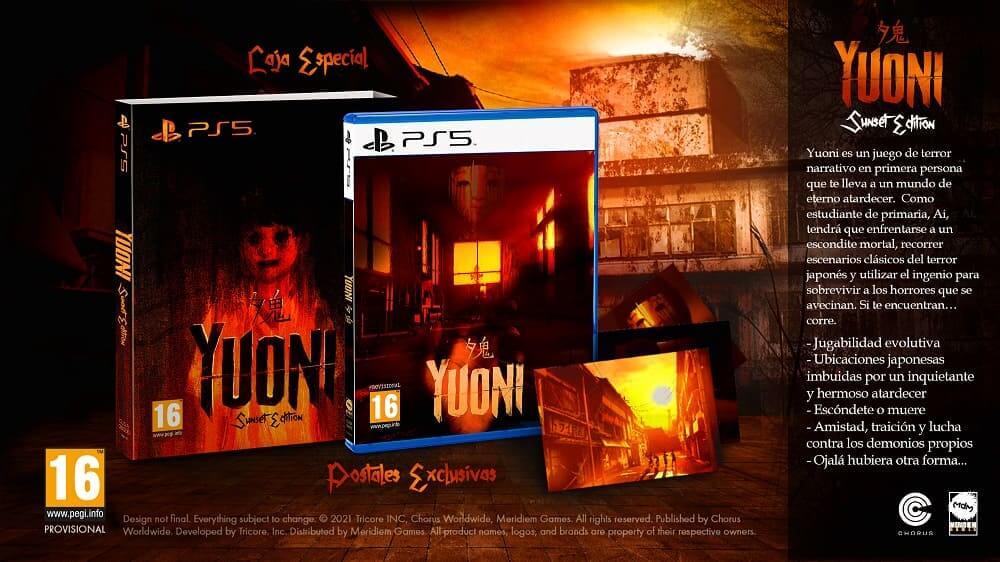 YUONI llegará en formato físico para PlayStation 5
