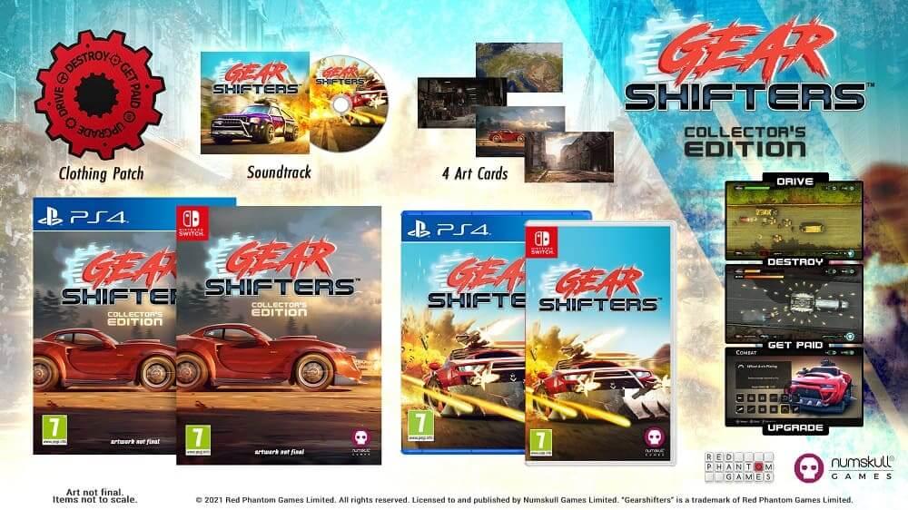 Gearshifters llegará en una edición coleccionista para PlayStation 4 y Nintendo Switch