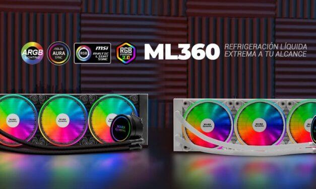 Nuevo kit de refrigeración líquida ML360, refrigeración líquida extrema a tu alcance