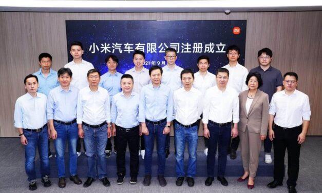 La línea de negocio de Xiaomi EV Company Limited alcanza un hito clave