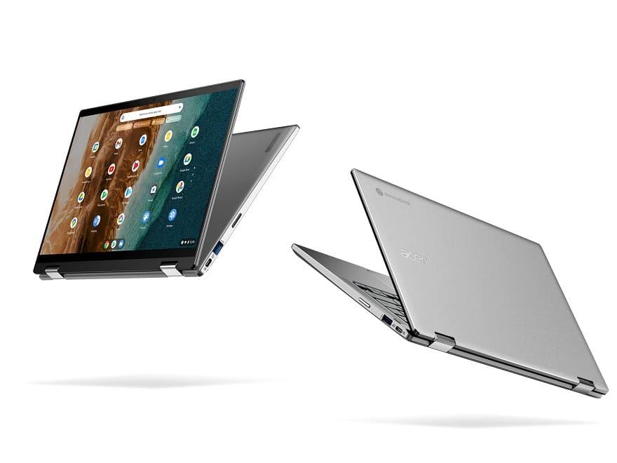 Acer presenta nuevos Chromebook de pantalla grande para el trabajo, el colegio y el entretenimiento