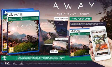 Away The Survival Series ya disponible en formato físico para PlayStation 4 y PlayStation 5