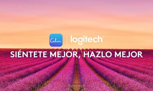 Logitech se asocia con Calm, la aplicación número uno para la meditación, el sueño y la relajación