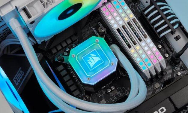 Los sistemas de refrigeración líquida Corsair «All In One» están preparados para los procesadores LGA 1700 e Intel Alder Lake