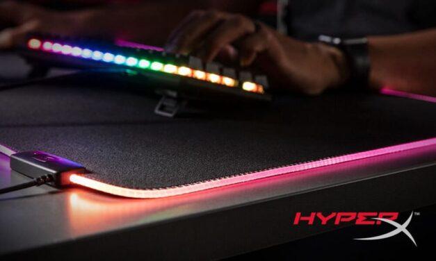 HyperX lanza su nueva alfombrilla Pulsefire Mat RGB que viene a iluminar el mundo de los videojuegos