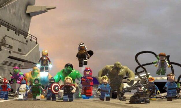 ¡LEGO Marvel Super Heroes se abre paso hoy en Nintendo Switch!