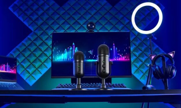 Razer lanza los nuevos micrófonos para streamers profesionales o iniciados, los Seiren V2 Pro y Seiren V2 X