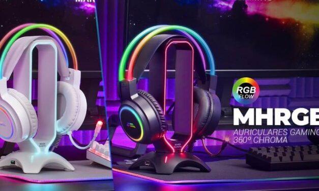 Nuevos auriculares gaming MHRGB de Mars Gaming