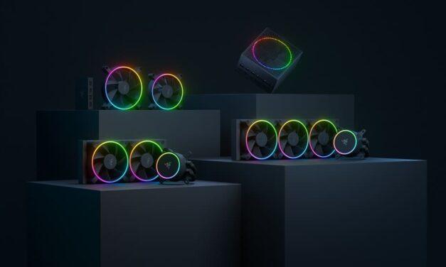 Razer presenta componentes de primer nivel para PC, diseñados por para los entusiastas
