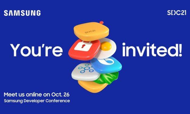 Samsung Developer Conference 2021 mostrará las estrategias de plataforma y ecosistema de la compañía