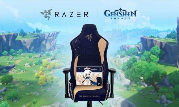 Entra en el fantástico universo de Genshin Impact con Razer