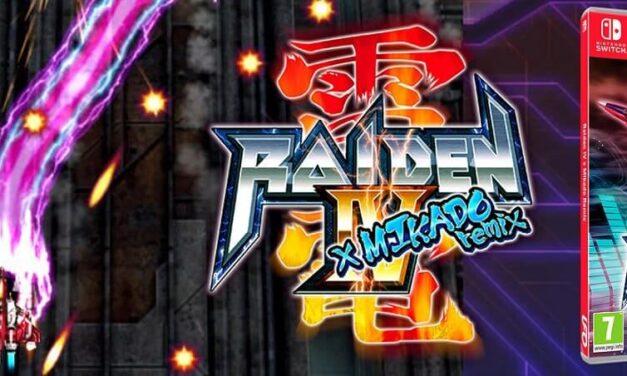 El icónico arcade Shoot 'Em Up' Raiden IV x MIKADO Remix' ya disponible para Nintendo Switch